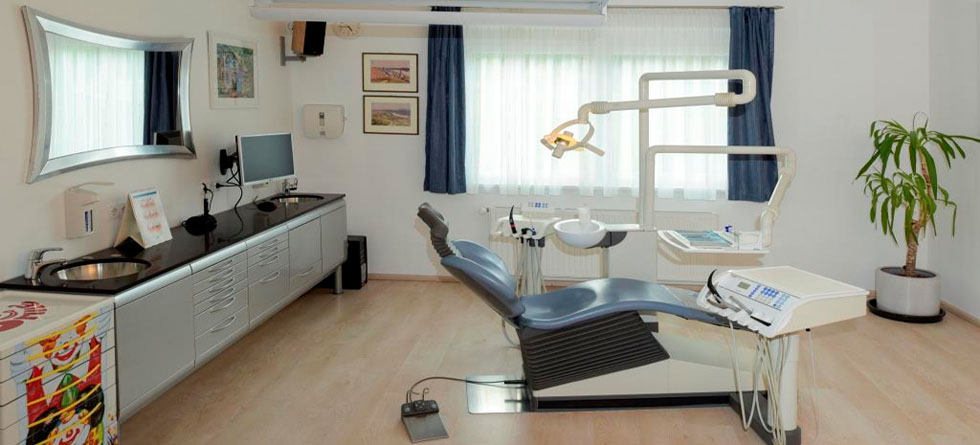 Moderne Behandlungsräume